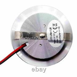 12 volt 3w Cool White LED Recessed Ceiling Lights For Interior RV Marine 6pcs