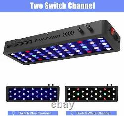 165W Dimmable Full Spectrum Auqarium LED Light Saltwater Freshwater Coral Reef