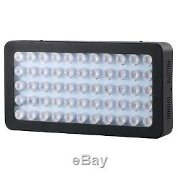 165W Dimmable Full Spectrum Led Aquarium Light Fish Tank Reef Coral Marine Lamp