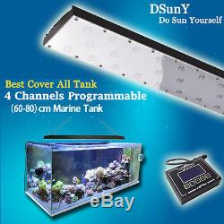 1696'' Dimmable LED Aquarium Light Coral Saltwater Reef Tropical Fish Tank