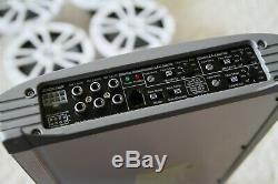 (2) Jl Audio E6450m Marine Amps And 4 Lighted Led Infinity Speakers