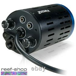 2x Kessil A160WE Tuna Blue LED Lights & 2x Mounting Arms & Link Cable Bundle
