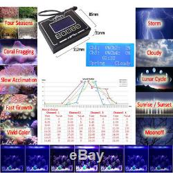 36 Dimmable LED Aquarium Light Full Spectrum For Marine Fish Reef Coral SPS LPS
