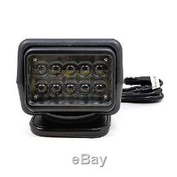360° 50W CREE LED Remote Control Search Marine Spot Work Light Boat Stage Lamp