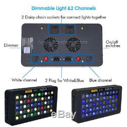 3x 165W LED Aquarium Light for SPS/LPS Coral Reef Marine Full Spectrum Dimmable