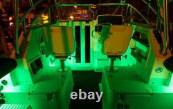 Bluetooth 4.0 LED Boat Interior Marine Deck Lights RGB Changing Accent Pod Kit