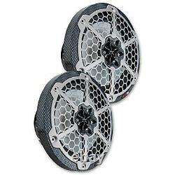 DS18 HYDRO 8 2-WAY MARINE SPEAKERS WithRGB LED LIGHTS 450W