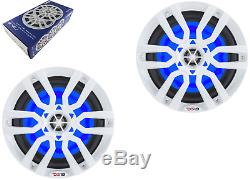DS18 NXL8 Marine 8Speakers with LED Lights MANY COLORS FREE SHIPPING