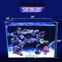 Fish Tank 180W Dimmable LED Aquarium Lights Coral Marine Plant Grow Dimmer New