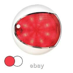 Hella Marine EuroLED Red & White Touch Lamp LED Surface Mount Interior Light RV