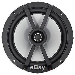 KICKER 43KM654LCW 6.5 390w Dual Marine Wakeboard Tower Speakers withLED Lights