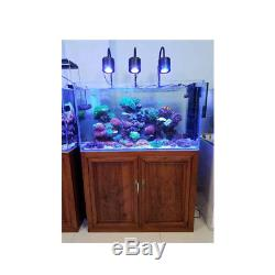 LED Aquarium Light 120w for 24 inch Planted and Marine Fish Tank with Gooseneck