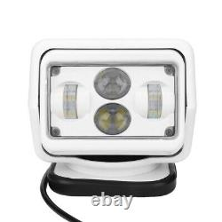 LED Marine Remote Control LED Search Light 60W 6800lm Waterproof Outdoor