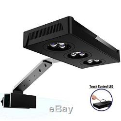 Led Aquarium Hipargero Touch Control 30W Cree Nano Light For Coral Reef Fish