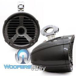 Memphis Mxa82ts 8 Gray 150w Rms Marine Boat Wakeboard Tower Led Speakers New