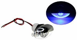 Pactrade Marine Auto RV Trailer SS316 LED Courtesy Accent Bezel Down Light Blue