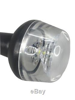 Pactrade Marine Boat LED All Round Anchor Fold Down Light SS Pole 8-30v 25''L