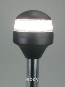 Pactrade Marine Boat LED All Round Anchor Plug-in Light Pole 24 USCG White 86LM