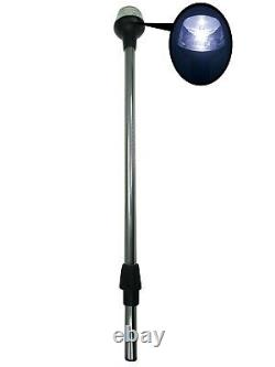 Pactrade Marine Boat LED All Round Anchor Plugin Light Pole 24 Collar USCG 93LM