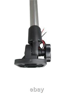Pactrade Marine Boat LED Anchor All Round Light SS Pole Fold Down 25''L 12V 2NM