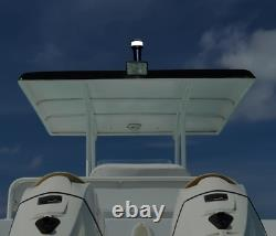 Pactrade Marine Boat LED Portable 3A Battery White All Round Navigation Light