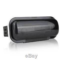 Pyle Boat Receiver, (4) 6.5 240W Marine Speakers with LED Lights, Antenna, Cover
