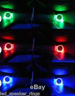 RGB LED Speaker Rings for JL Audio Marine 8.8 M880 2pc