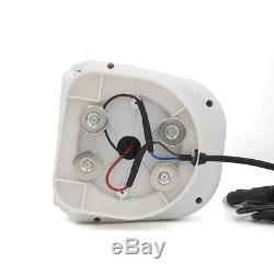 WEISIJI Led Marine Search Light 2Pcs 60W Wireless Remote Control Spot Cree Chips
